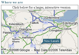 Click to view a larger area map of New Lanark